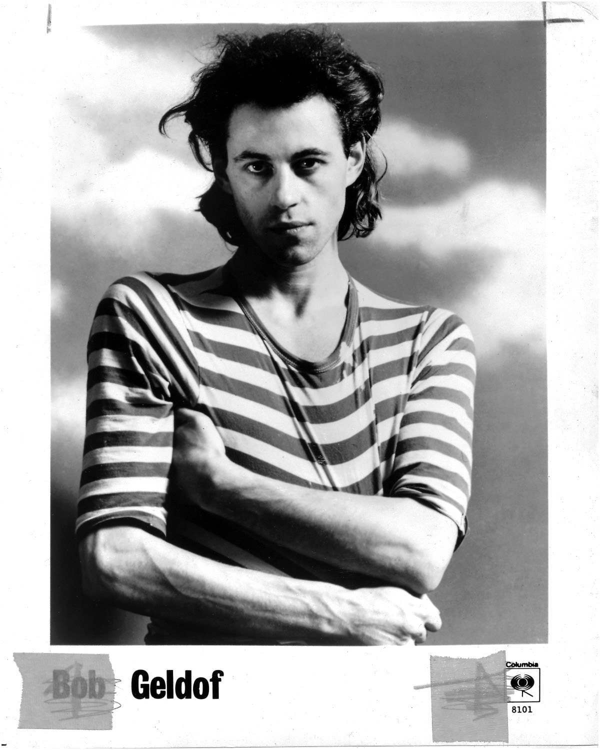 Bob Geldof Press Photo Columbia Records