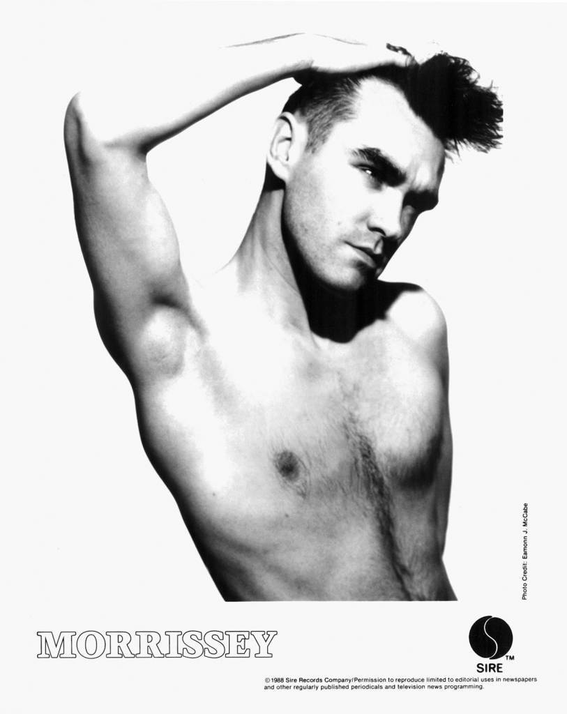 Morrissey Press PhotoSire Records/USA (1988)