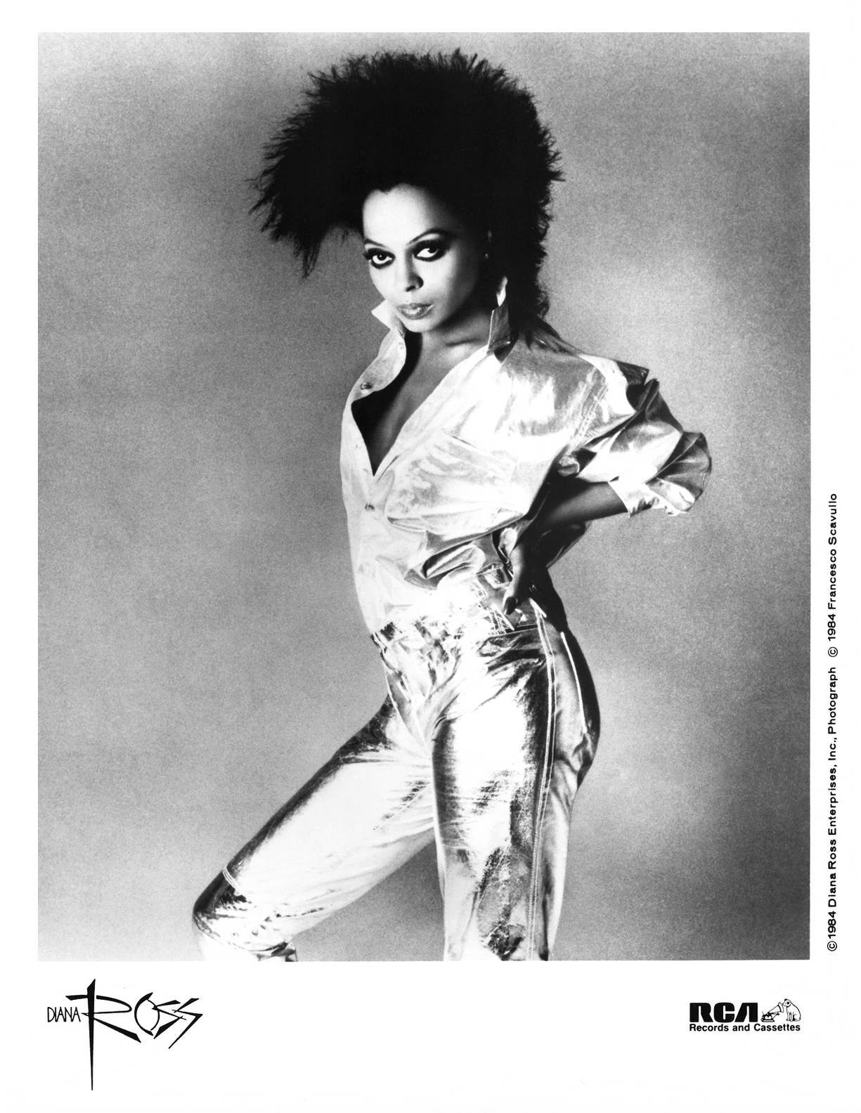 Diana Ross Press Photo RCA Records/USA (1984)
