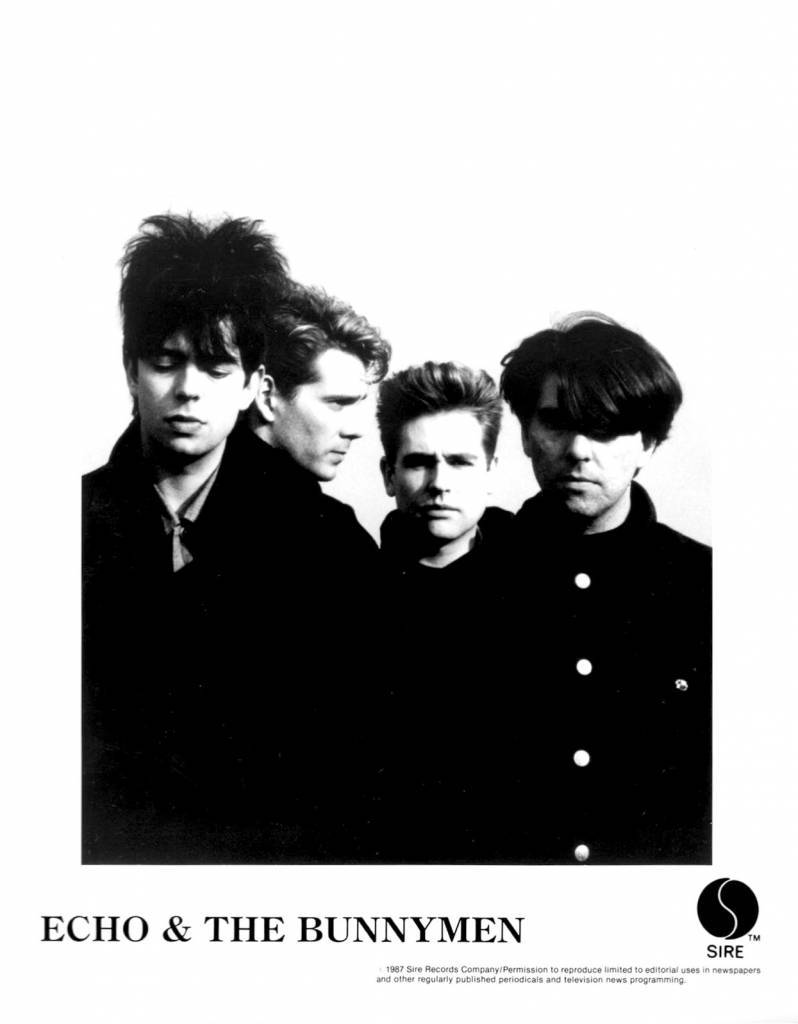 Echo & The Bunnymen Press Photo Sire Records/USA (1987)