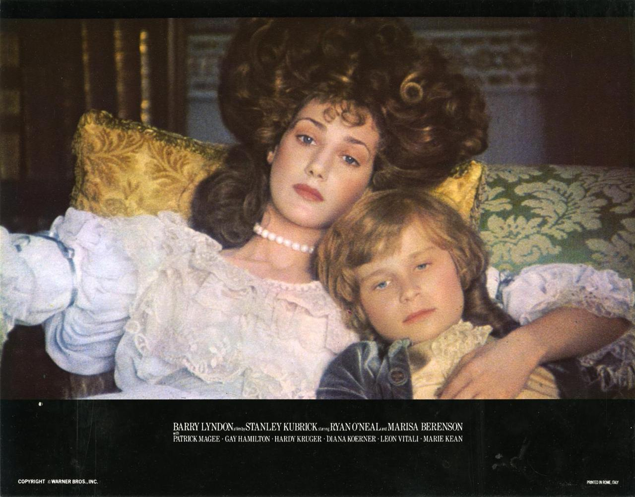 Barry Lyndon, US lobby card. 1975 b