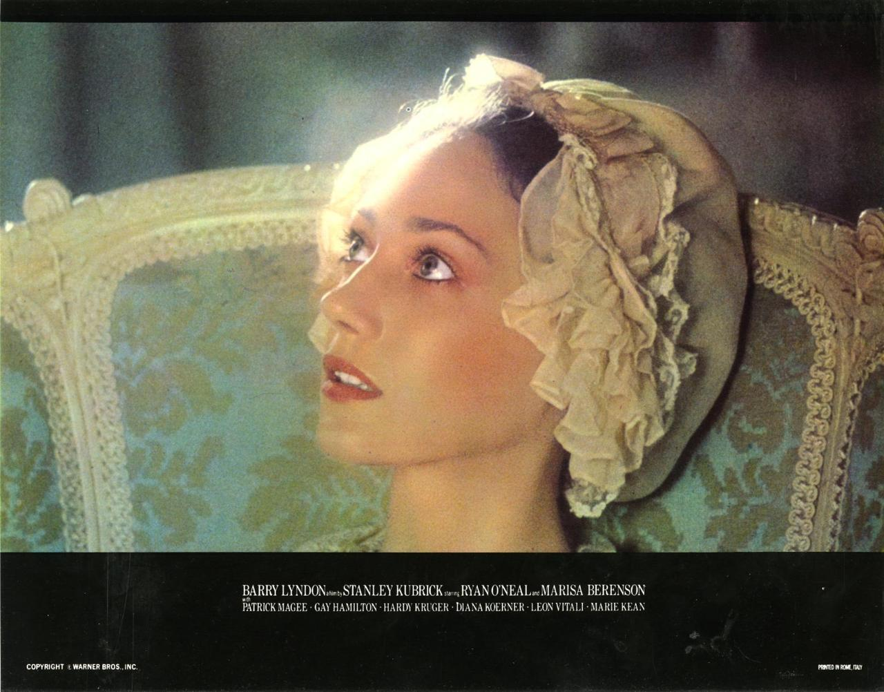 Barry Lyndon lobby card Marisa
