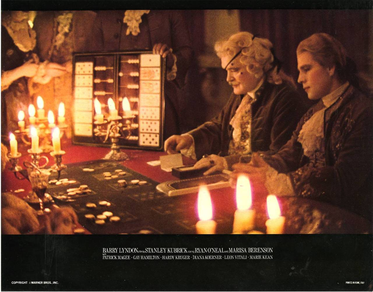 Barry Lyndon lobby card US 1976