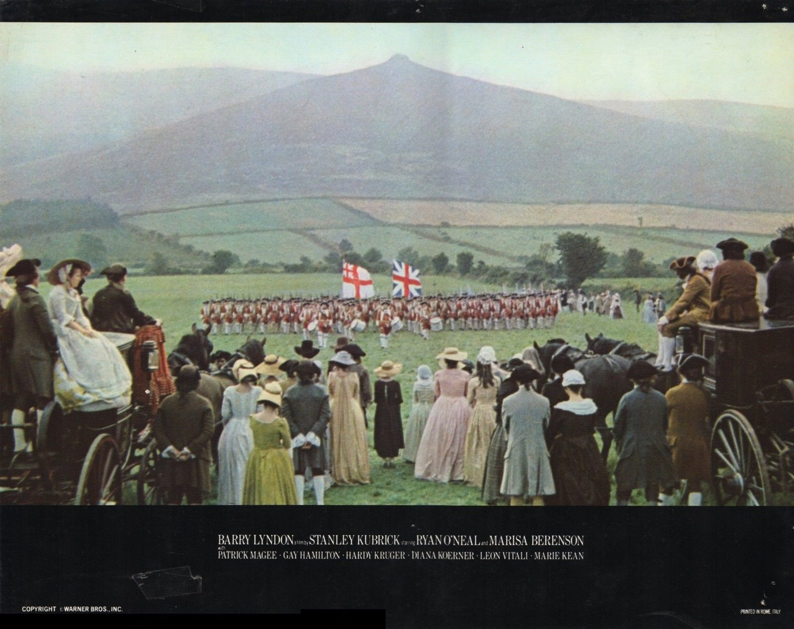 Barry Lyndon lobby card army