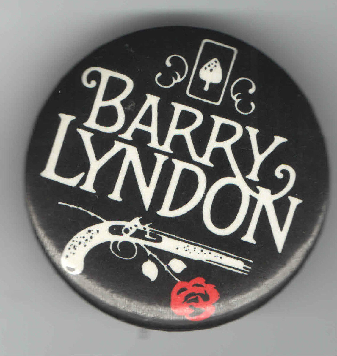 Barry Lyndon pin badge
