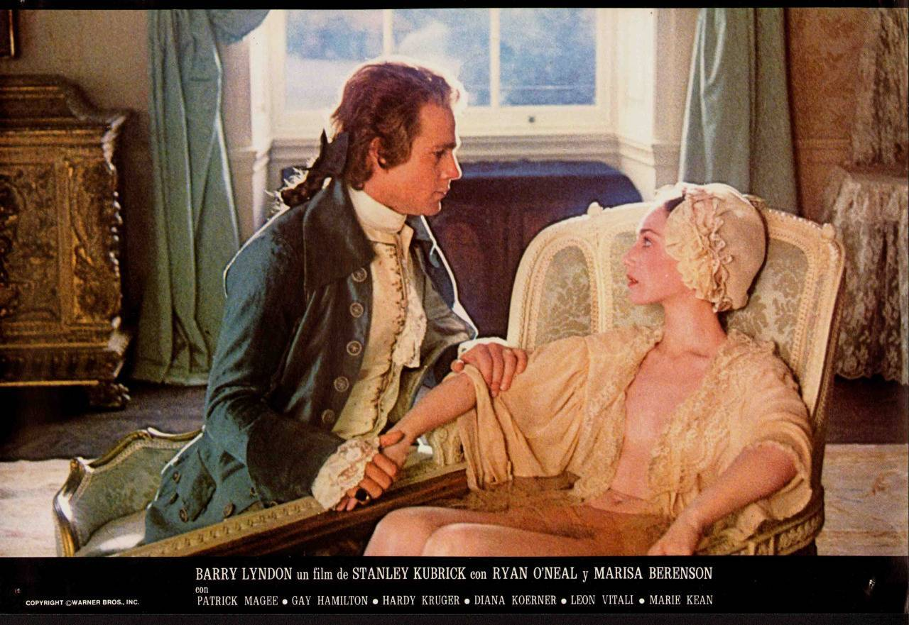 Barry Lyndon spanish lobby card 1976