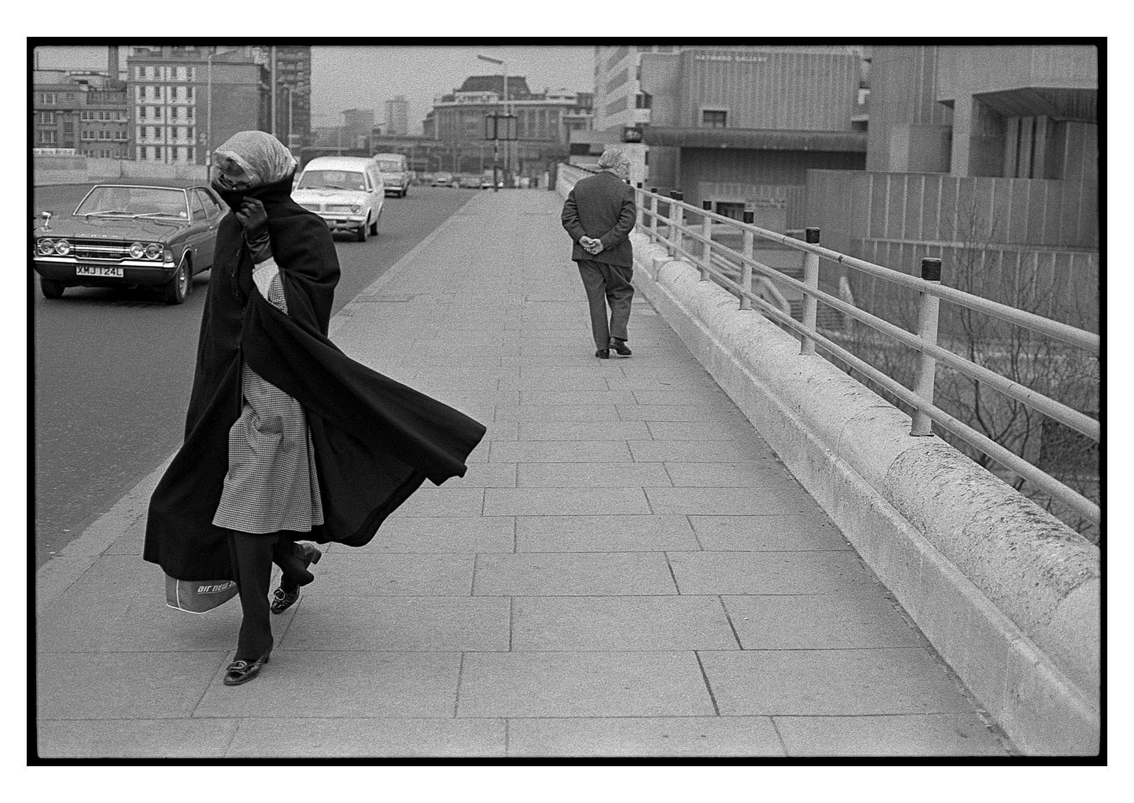 Erik van Straten London 1974 Waterloo Bridge n