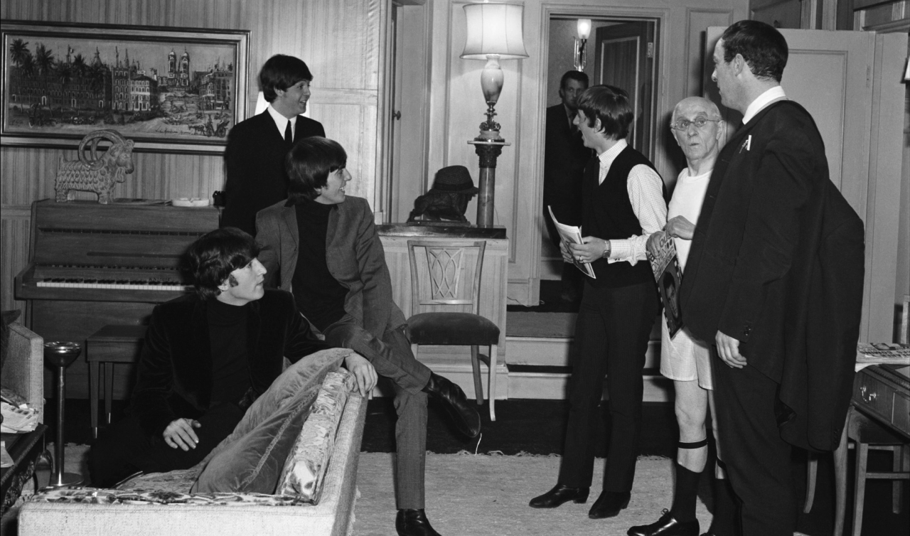 Hard Day's Night behind the scenes