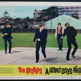 Lobby Cards and Ephemera from the Beatles' Film – A Hard Day's Night