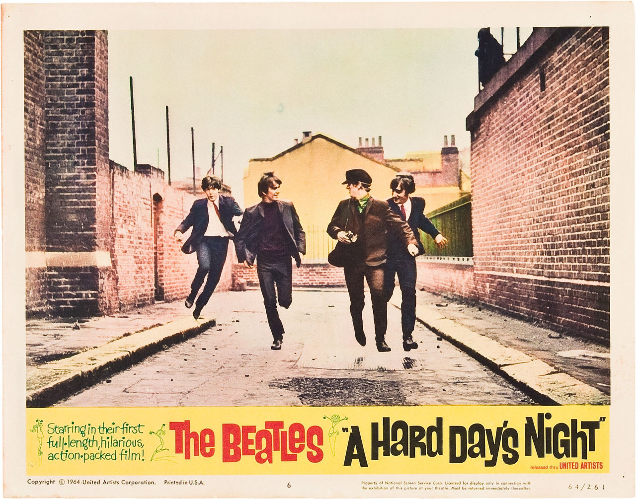 Hard Day's Night lobby card 3