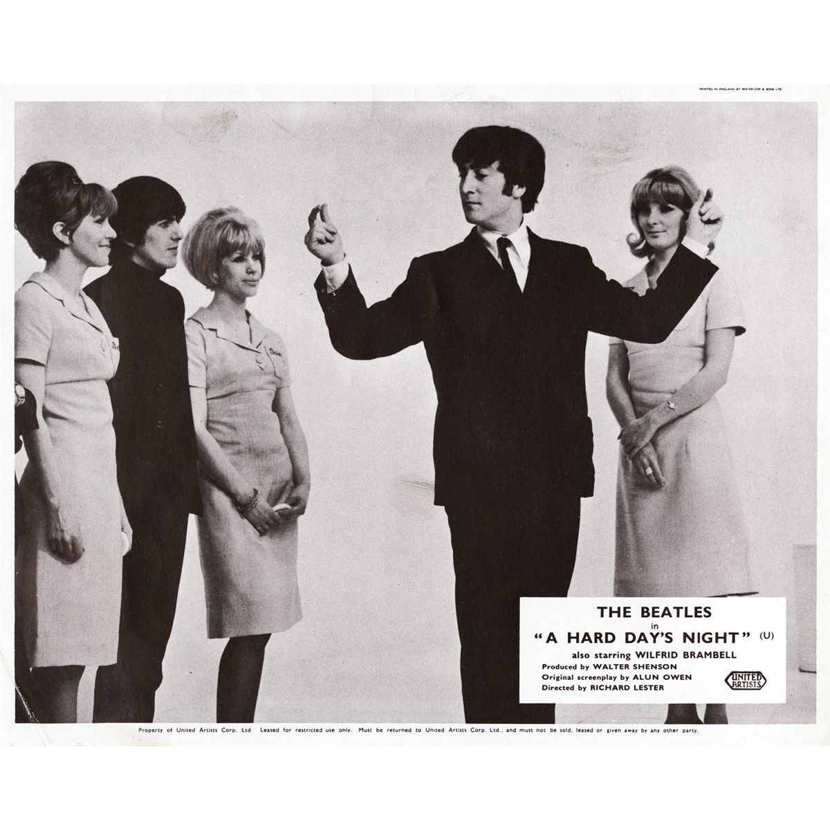 Hard Day's Night lobby card 9