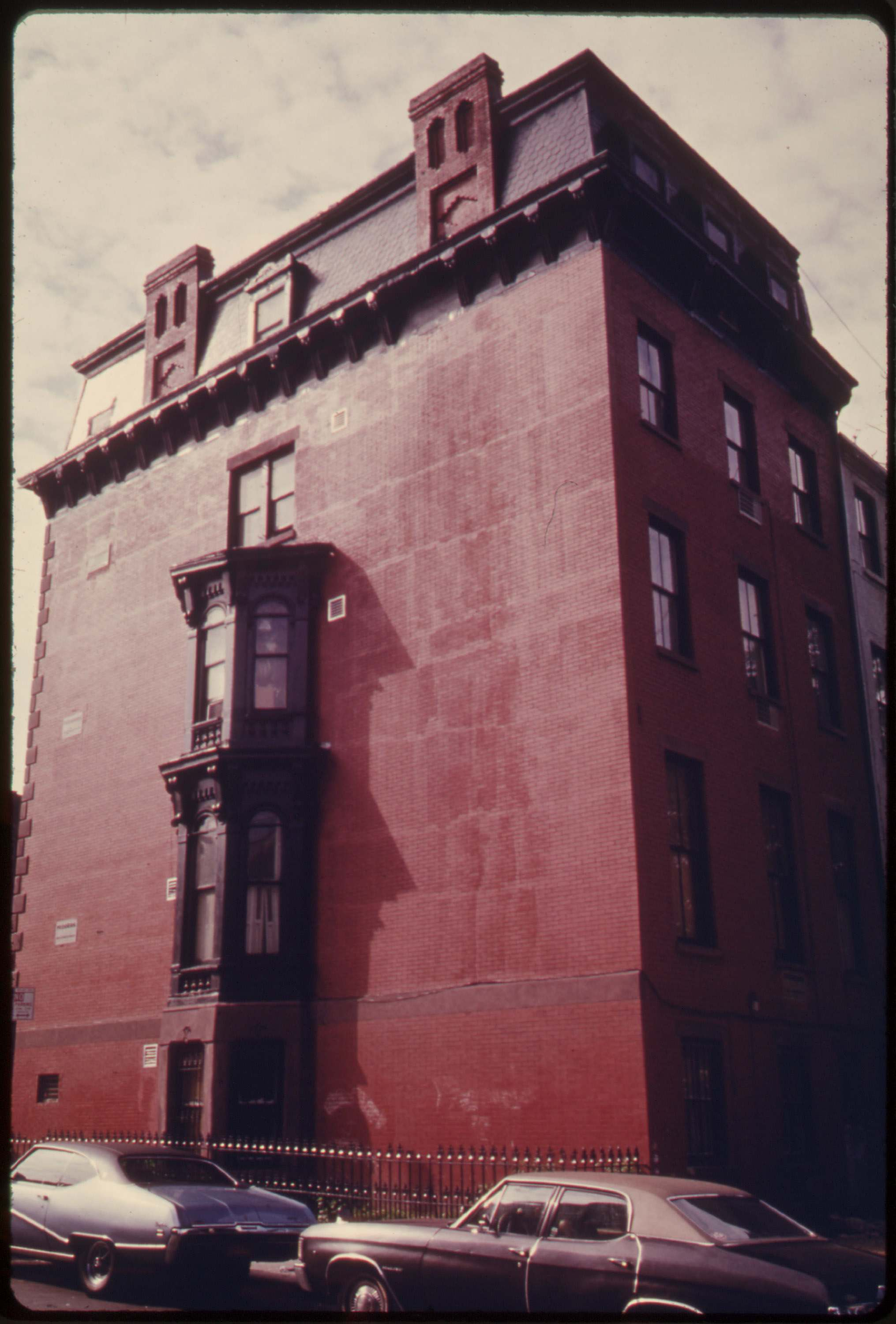 House in Park Slope, Brooklyn, June 1974.