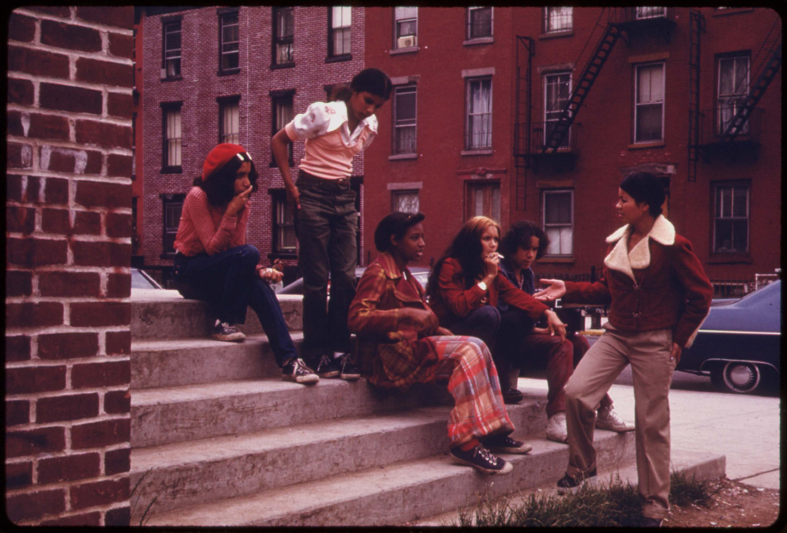 Lynch Park in Brooklyn, June 1974.