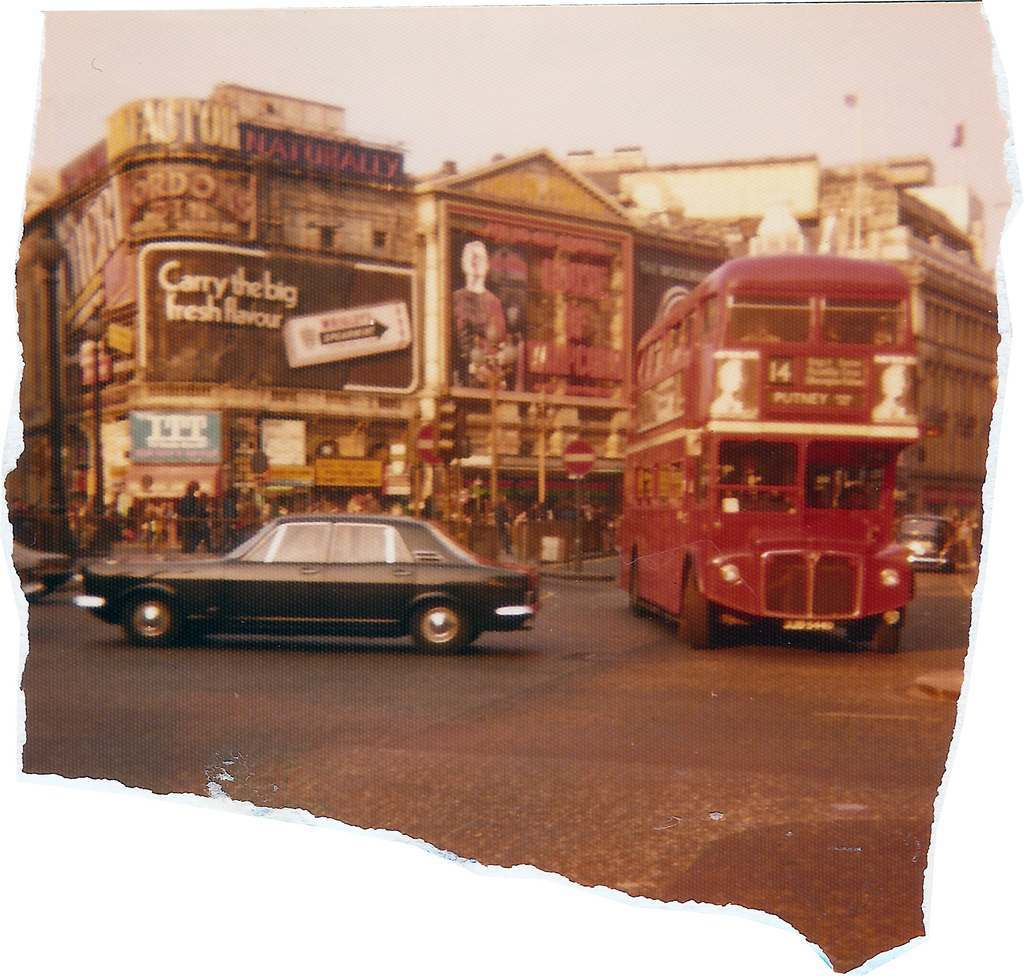 Piccadilly routemaster 1974 Karl-Heinz Lilienthal