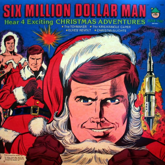 The Six Million Dollar Man Christmas Records 1978