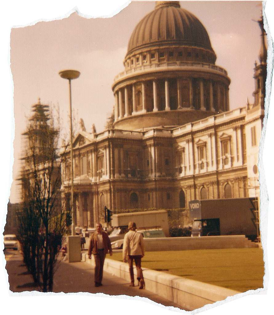 St Paul's Cathedral 1974 Karl-Heinz Lilienthal