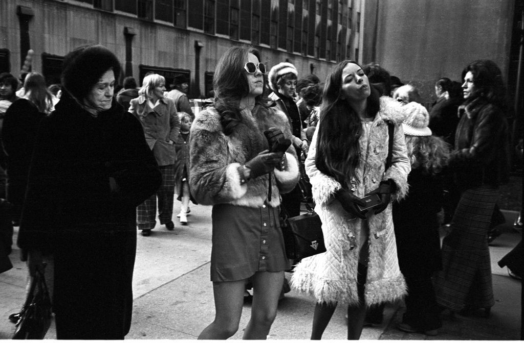 Tony Marciante NYC fur coats 1974