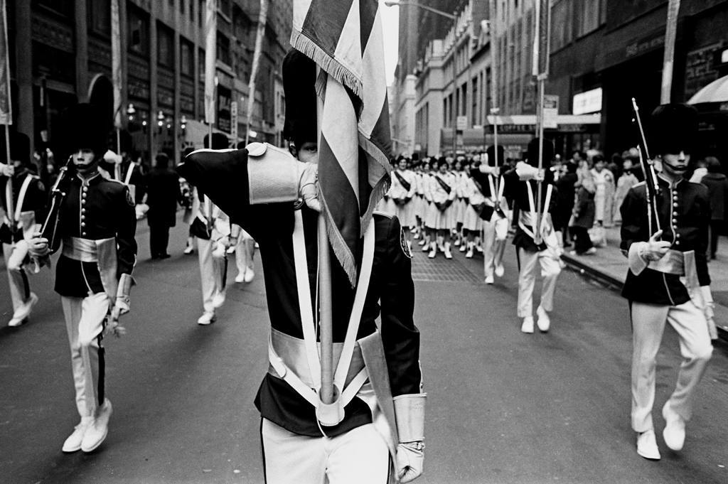 Tony Marciante Parade close up 1974