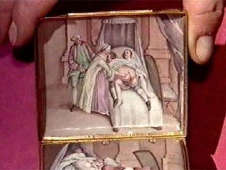 Catherine The Great's snuff box