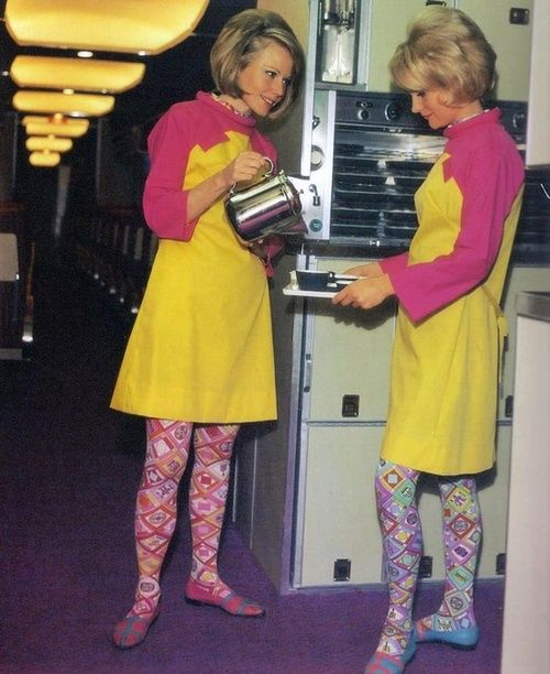 braniff airlines uniforms stewardesses pucci stewardess 1960s emilio flight air hostess international airline attendant hostesses uniform designed stripping imgur airways