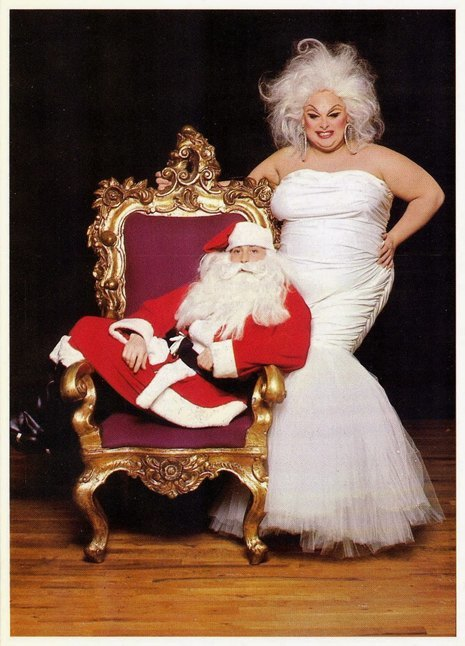divine john waters christmas card 11 - John Waters Christmas