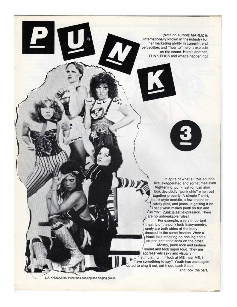 How To Look Punk: A 1977 Guide For Wannabes