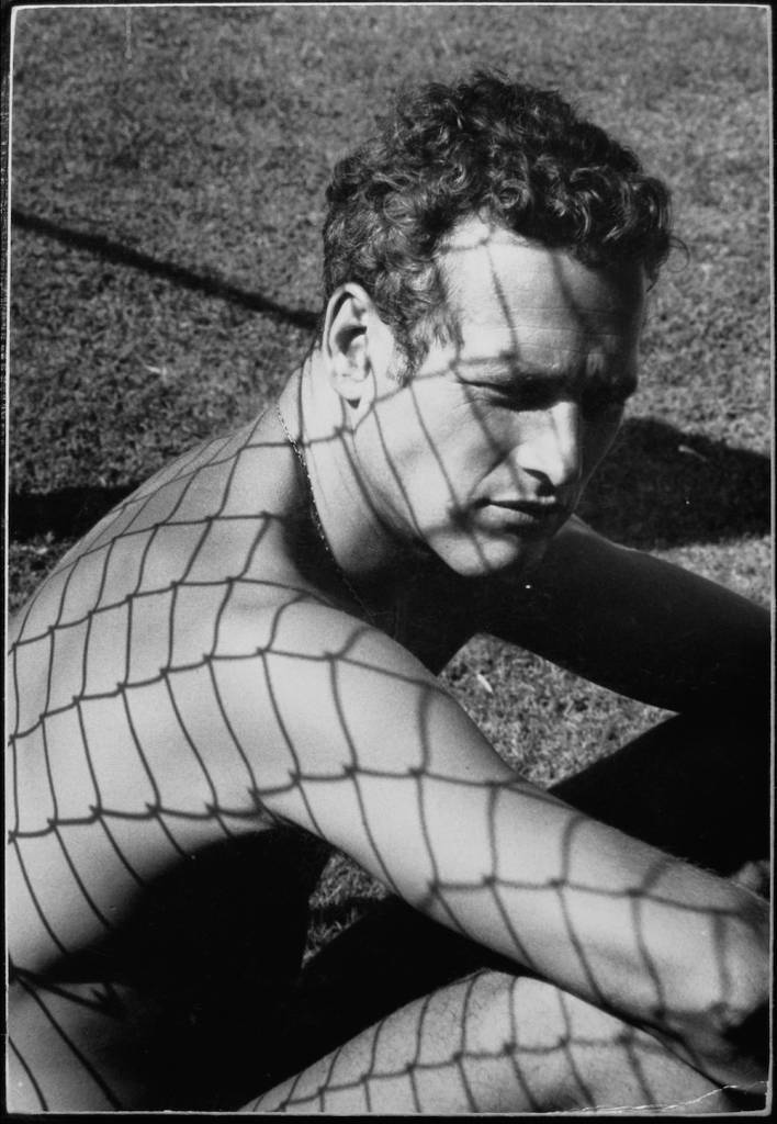 Paul Newman, 1964 Location: Malibu, Ca USA