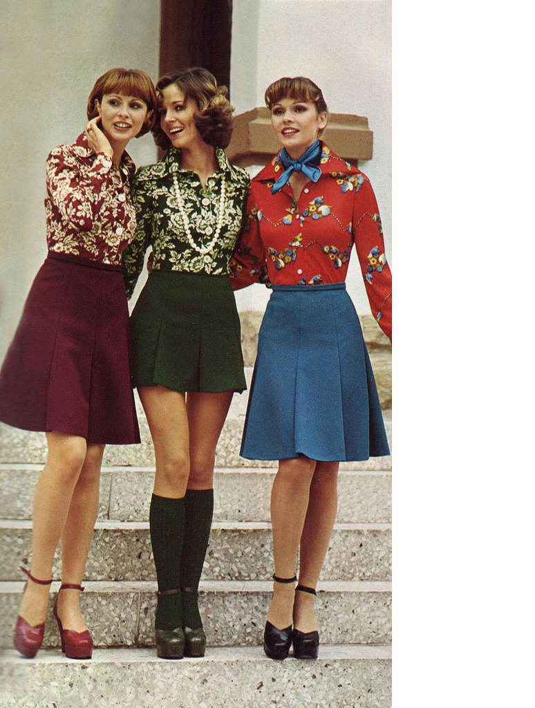 Miniskirts And Stairs 1960s Women In Peril Flashbak