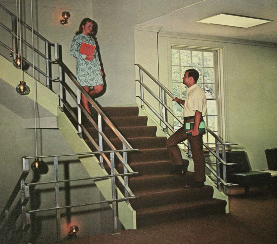 Miniskirts And Stairs 1960s Women In Peril