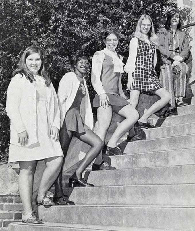 Miniskirts And Stairs: 1960s Women In Peril |