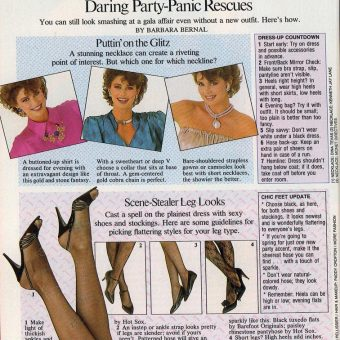 Woman's Day Magazine Scan: December 1985