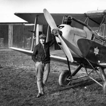 Pictures of English Aviatrix Amy Johnson – 1903 – 1941