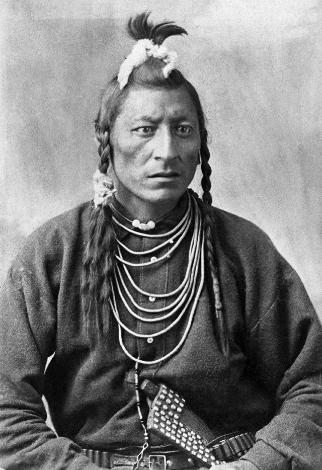 Chief Owl, Blackfoot. Date: [ca. 1886]