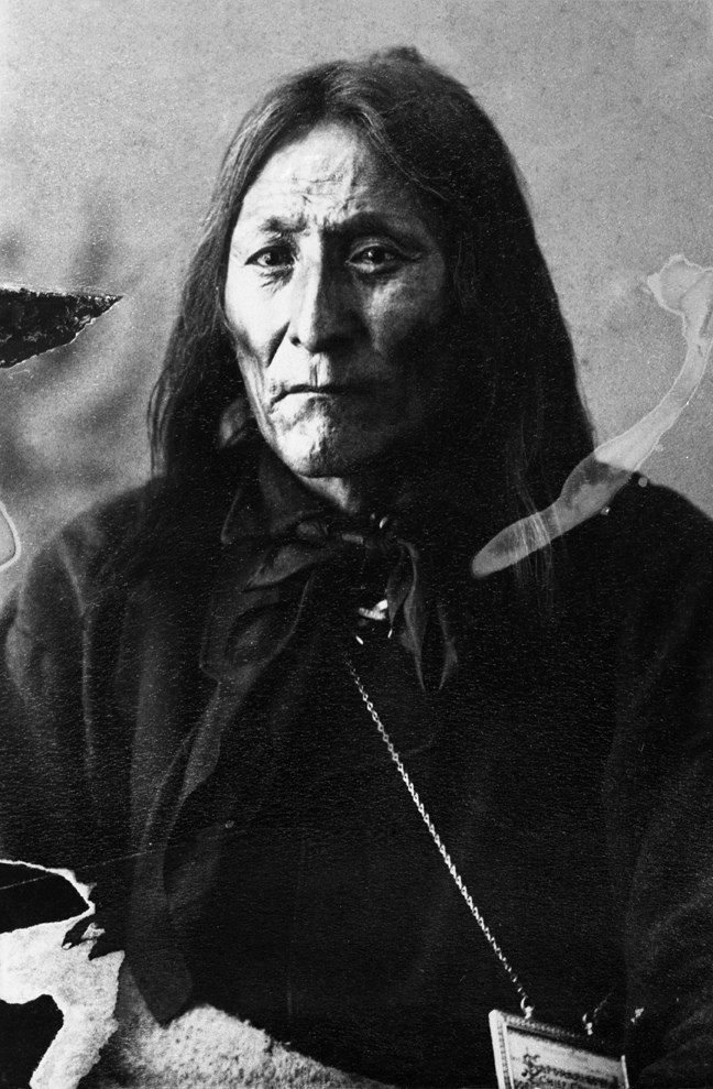 Crowfoot, Blackfoot Chief. Date: 1887
