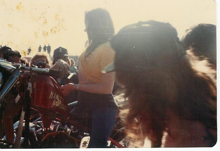 Florida beach 1980 bikers daytona