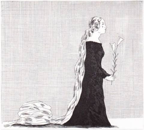 'The older Rapunzel' (Rapunzel)