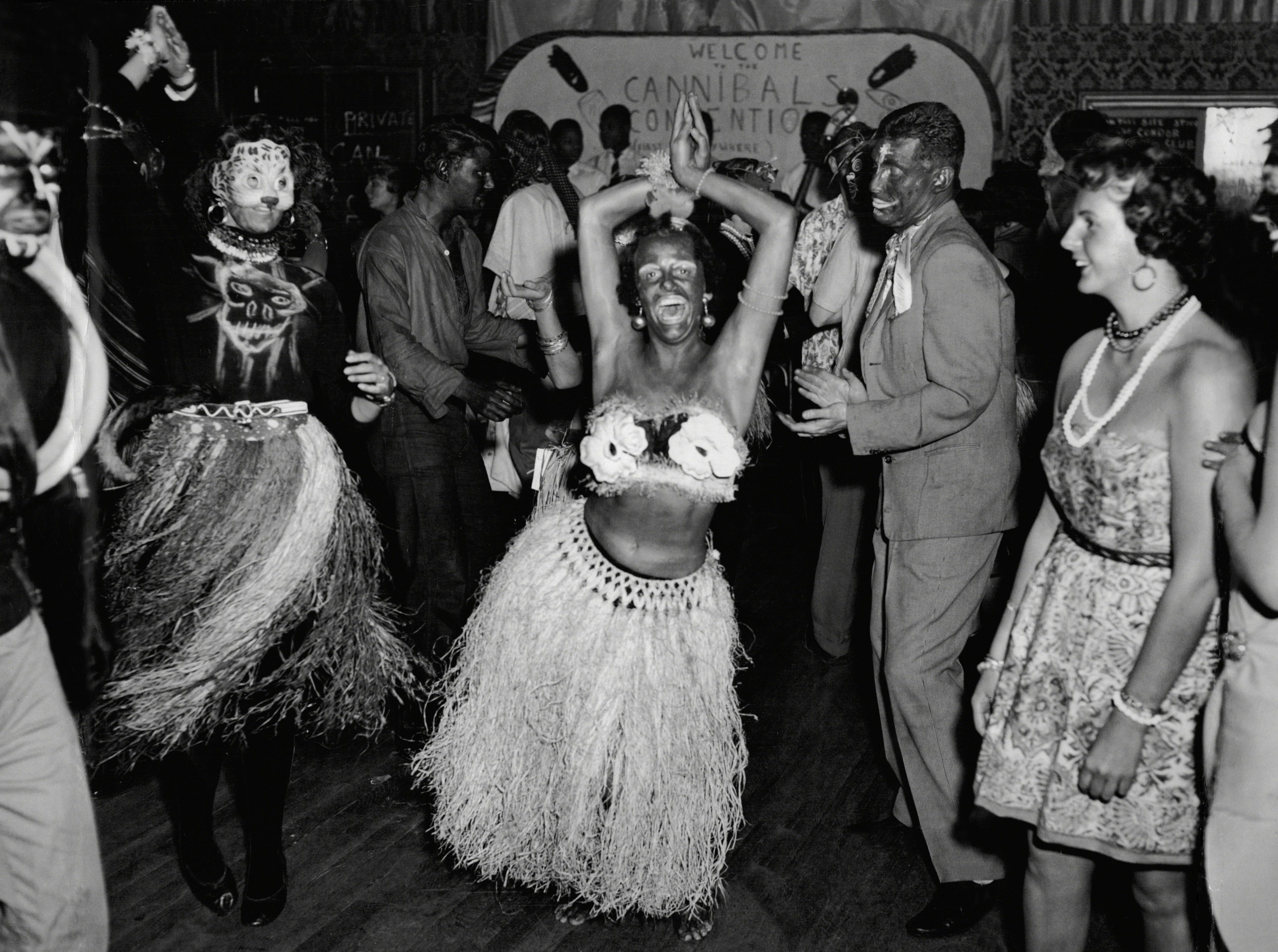 African Ball At Le Condor Club In Wardour Street Soho London 16 Nov 1956 Photo by Anthony Wallace/ANL/REX/Shutterstock