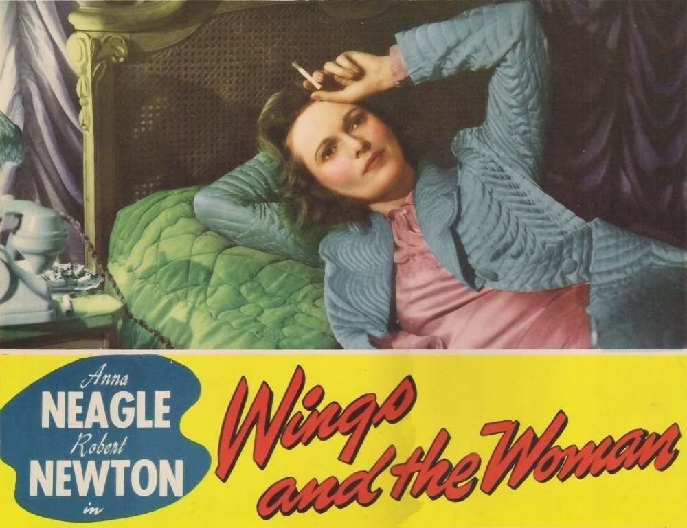 In 1942, a film of Johnson's life, 'They Flew Alone', was made by director-producer Herbert Wilcox, starring Anna Neagle as Johnson, and Robert Newton as Mollison. The movie is known in the United States as 'Wings and the Woman'.