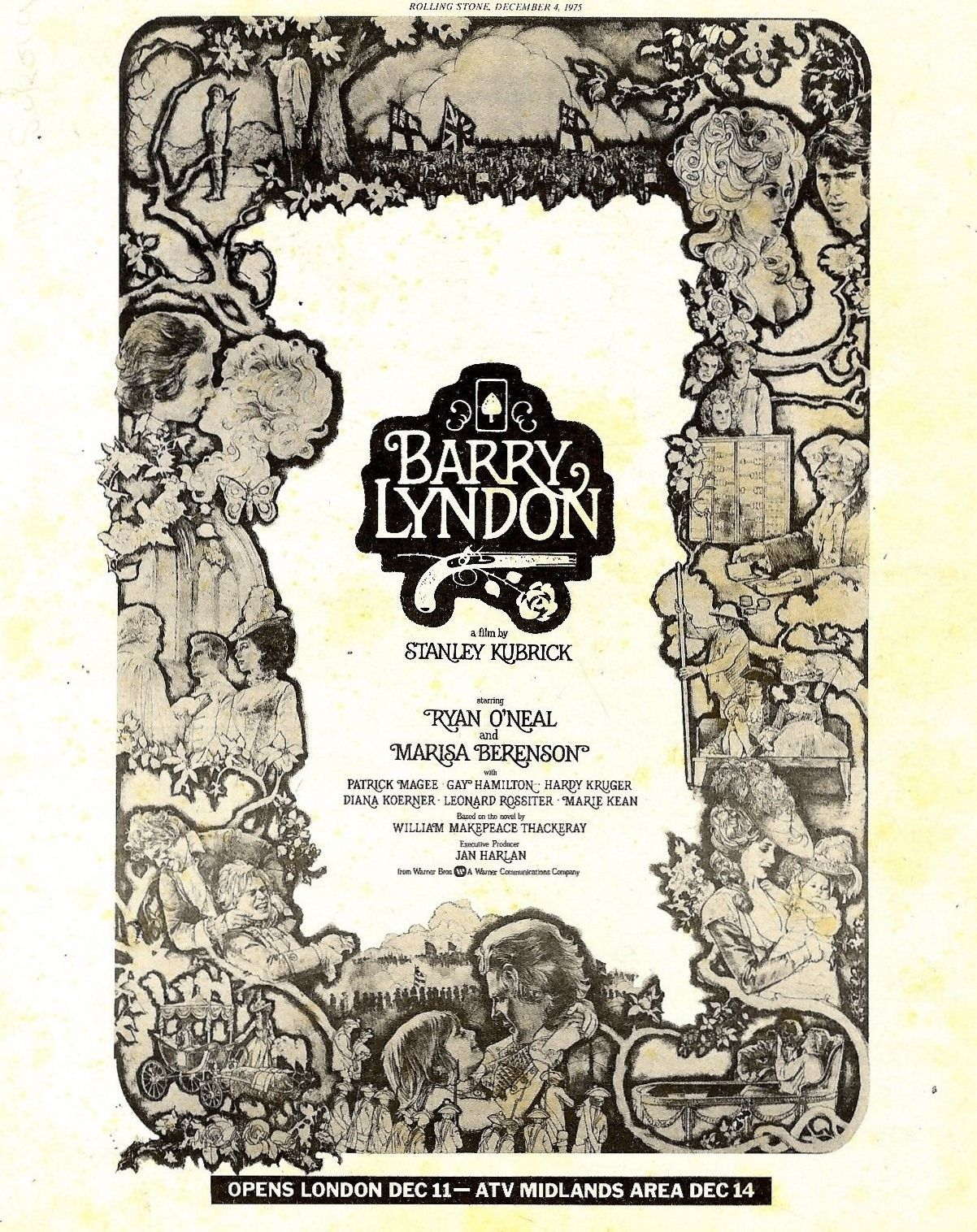 Barry Lyndon poster ATV area