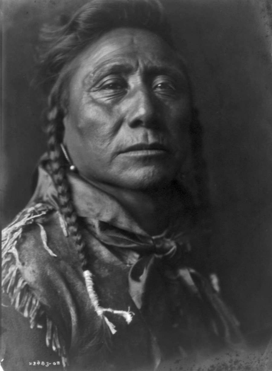 Edward S. Curtis - Coups Well Known, Apsaroke