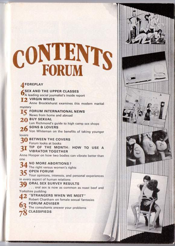 sex pistols SEX Forum magazine 1976