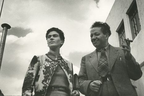 Frida And Diego, Mexico, ca. 1935