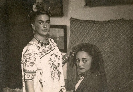 Frida Braiding Rosa Covarrubias's Hair, 1938