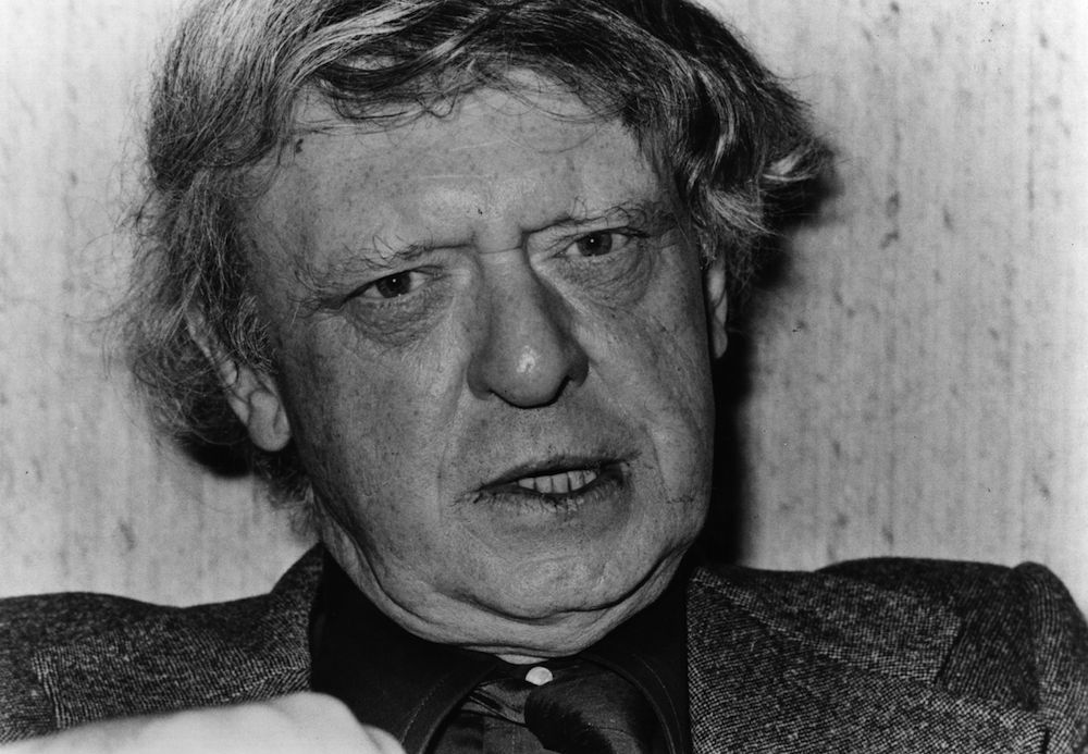 Anthony Burgess, English author, critic and composer, and writer of the controversial 'A Clockwork Orange.' (Photo by Evening Standard/Getty Images)