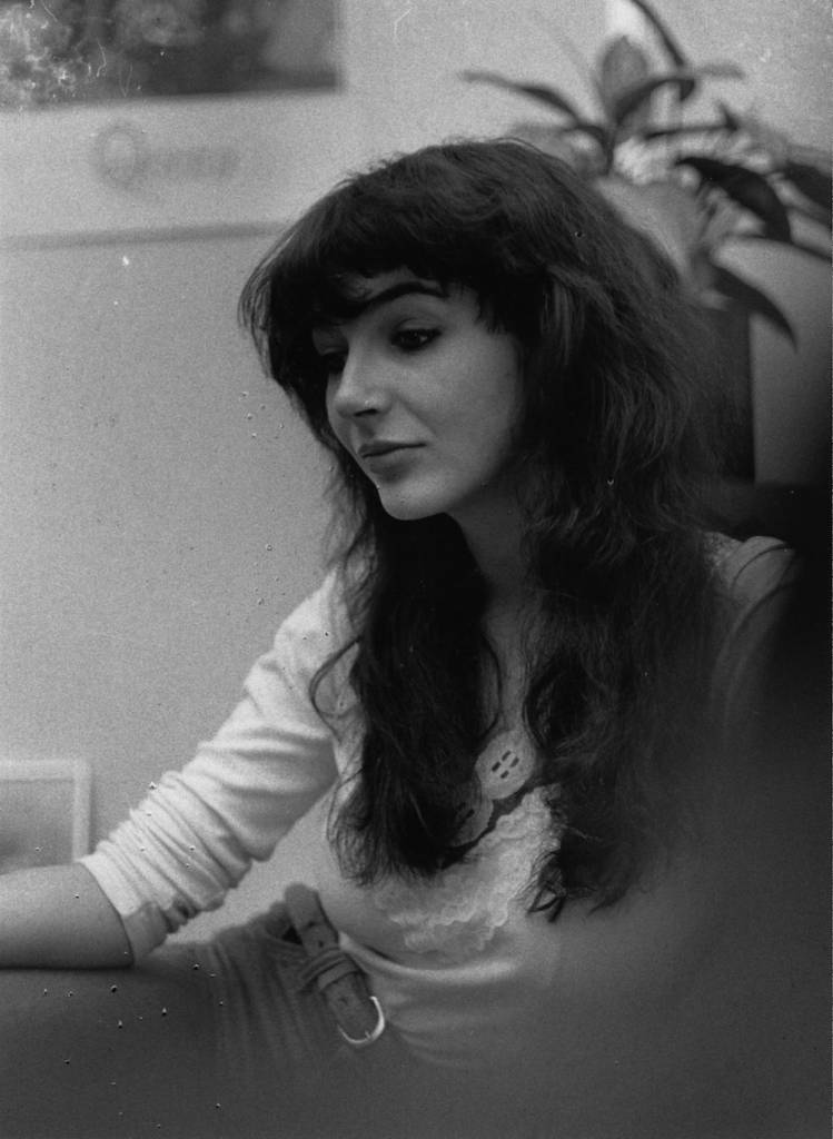 English singer-songwriter and musician Kate Bush, 21st February 1978. (Photo by Chris Moorhouse/Evening Standard/Hulton Archive/Getty Images)