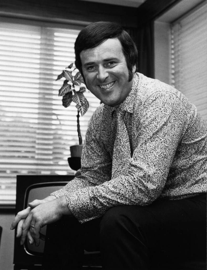 17th July 1970: The Irish television and radio presenter, Terry Wogan. (Photo by Chris Ware/Keystone Features/Getty Images)