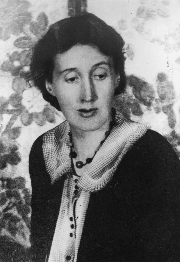 circa 1927: A portrait of Virginia Woolf, writer and member of the Bloomsbury Group. (Photo by Evening Standard/Getty Images)