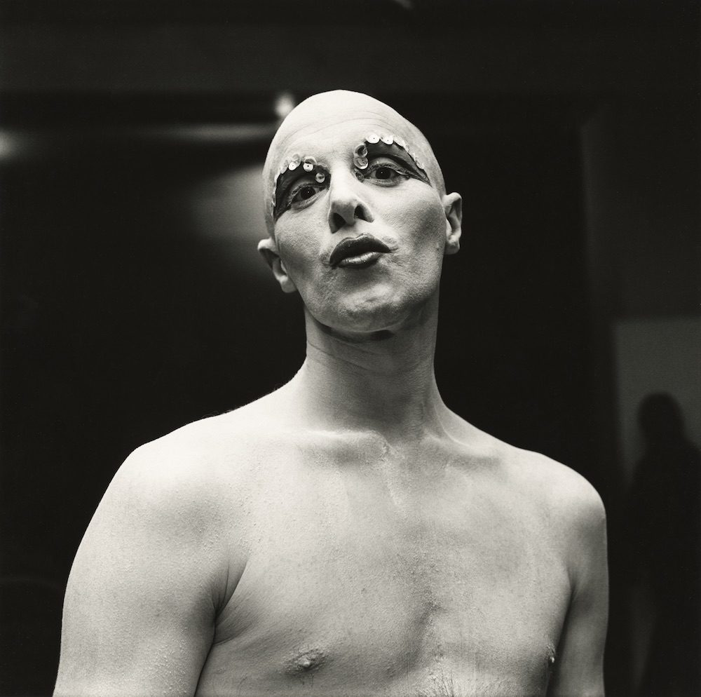 Larry Ree Backstage, c. 1973
