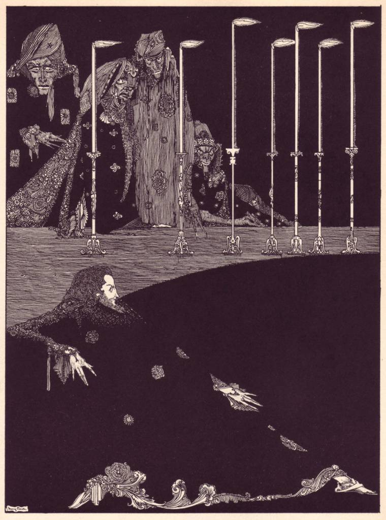 edgar allan poe illustrations - photo #23