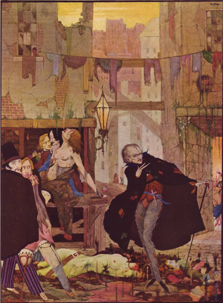 Harry Clarke Poe color 1
